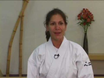 """Penny Bernath Sensei - from """"Holding Up Half the Sky - Women Aikido Instructors in America"""""""